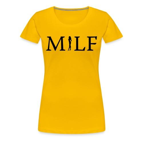 Milf - Dame premium T-shirt