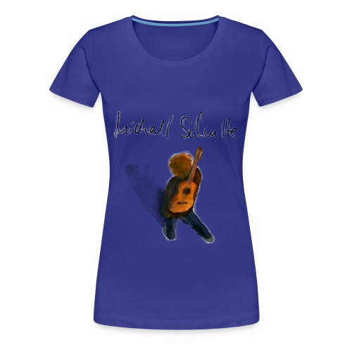 Michael Schulte Wandring Blue - Frauen Premium T-Shirt