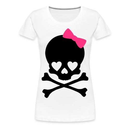 Girlie Skull T-Shirt II - Women's Premium T-Shirt