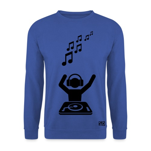 Sweatshirt homme DJ - Sweat-shirt Homme