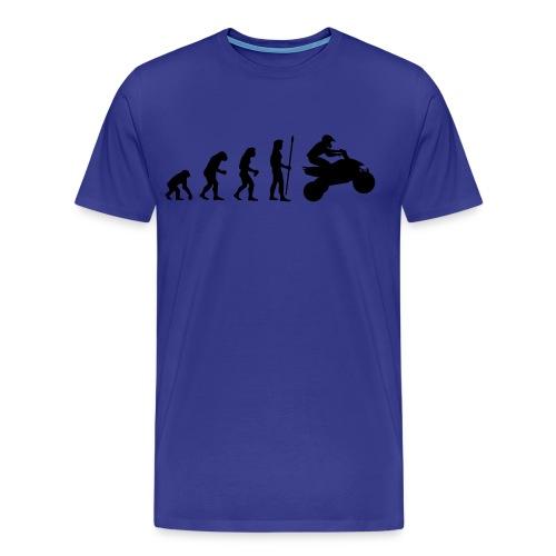 'Evolution' T-Shirt - Men's Premium T-Shirt