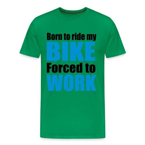 'Born to ride' T-Shirt - Men's Premium T-Shirt