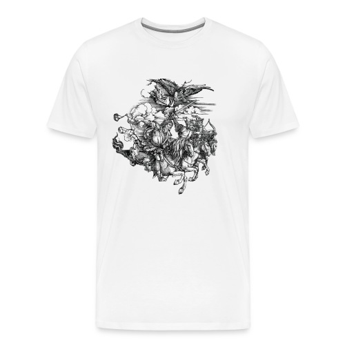 Revelation 6:8 - Männer Premium T-Shirt
