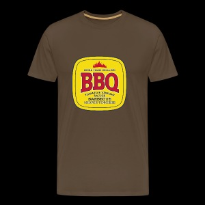 BBQ Barbecue - Premium-T-shirt herr