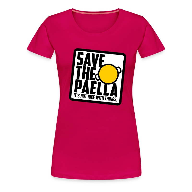 Save the paella - Color (Xica) - Camiseta premium mujer