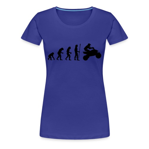 'Evolution' T-Shirt - Women's Premium T-Shirt