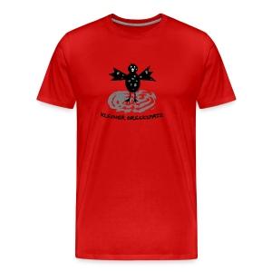 tier t-shirt kinder baby schmutzfink fink spatz dreckspatz schmutzig dreckig schmutz dreck - Männer Premium T-Shirt