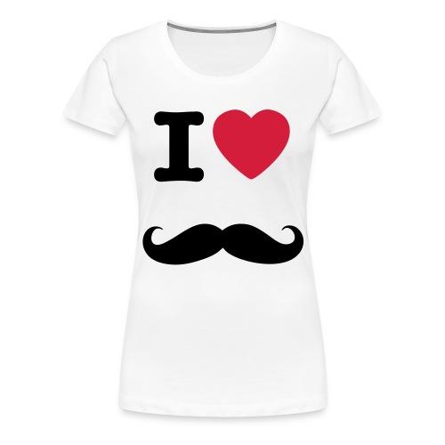 Moustaches - T-shirt Premium Femme