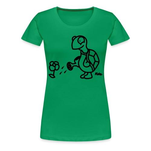 kastele kukkia illalla - Naisten premium t-paita