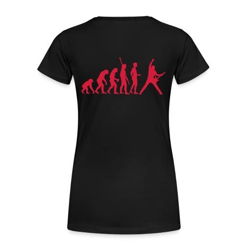 Evolution femme noir - T-shirt Premium Femme