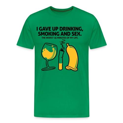 True story - Mannen Premium T-shirt