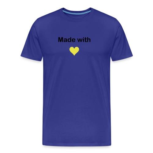 hecho con amor - Camiseta premium hombre