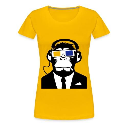 monkey style - T-shirt Premium Femme