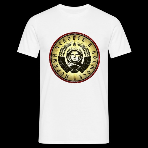 Kosmonaut 4c retro (oldstyle) - Men's T-Shirt