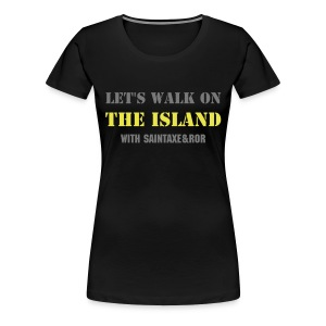 Let's walk on The island - Women's Premium T-Shirt