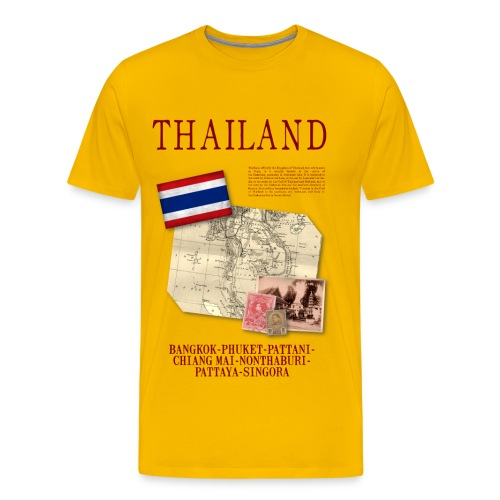 Thailand - World Tour Expedition - T-shirt Premium Homme