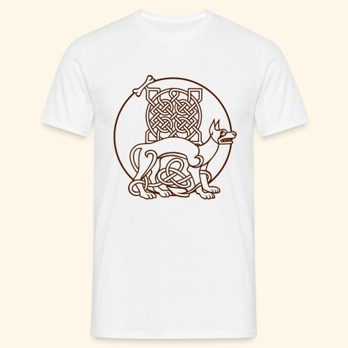 Celtic Fido - Männer T-Shirt