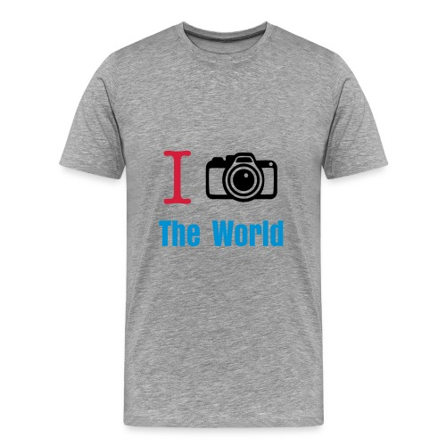 ICam the World Shirt - Männer Premium T-Shirt