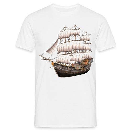 Old Sailboat - Männer T-Shirt
