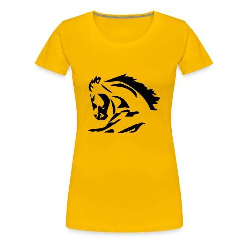 Hourse - Frauen Premium T-Shirt