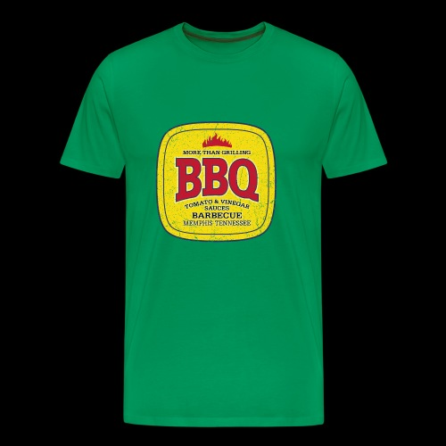 BBQ Barbecue (oldstyle) - Premium T-skjorte for menn