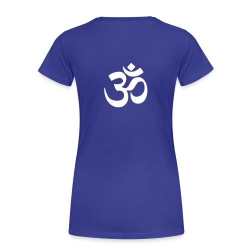 Om White Woman Back - Frauen Premium T-Shirt