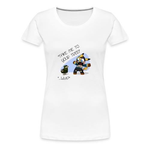 Utorak & The Duck - Women's Premium T-Shirt