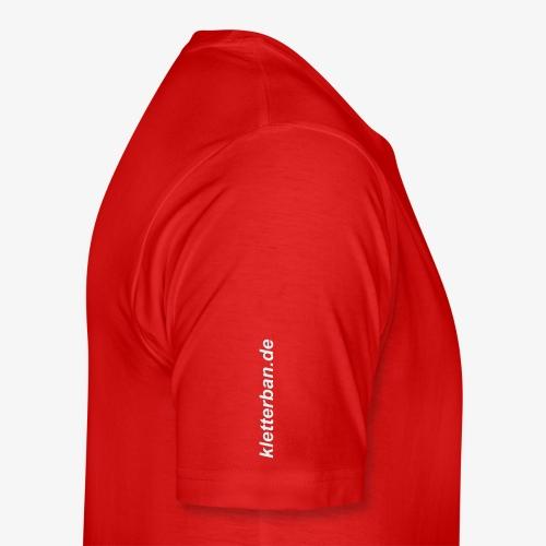 Humanoide Evolution - reflektierend (men) - Männer Premium T-Shirt