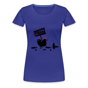 Le coq onsportief - Vrouwen Premium T-shirt