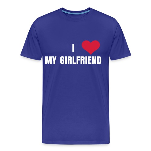 I heart my Girlfriend - Männer Premium T-Shirt