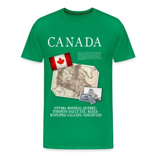Canada - World Tour Expedition - T-shirt Premium Homme