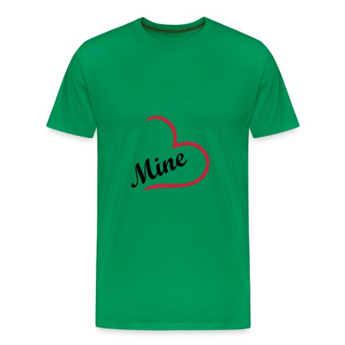 Couple shirt boy - Männer Premium T-Shirt