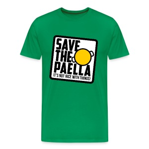 Save the paella - Color - Camiseta premium hombre