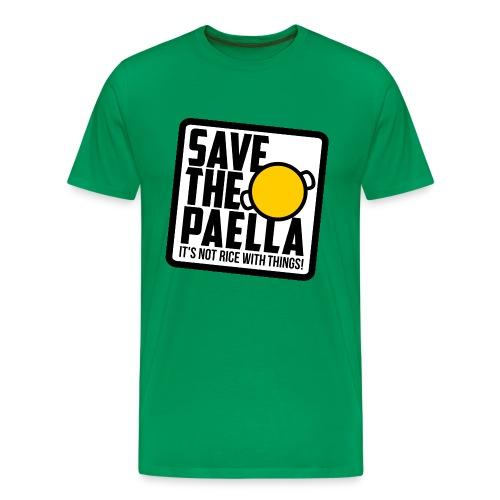 Save the paella - Color - Camiseta premium hombre