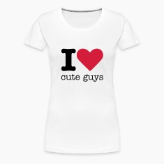 I Love Cute Guys T-Shirts