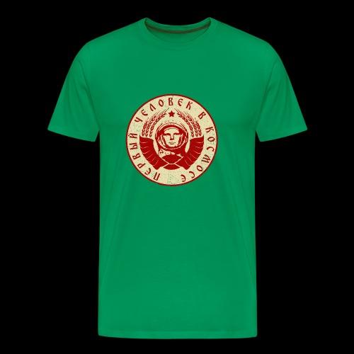 Kosmonaut 2c (oldstyle) - Männer Premium T-Shirt