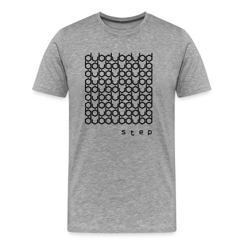 DUBstep Black/Black - Männer Premium T-Shirt