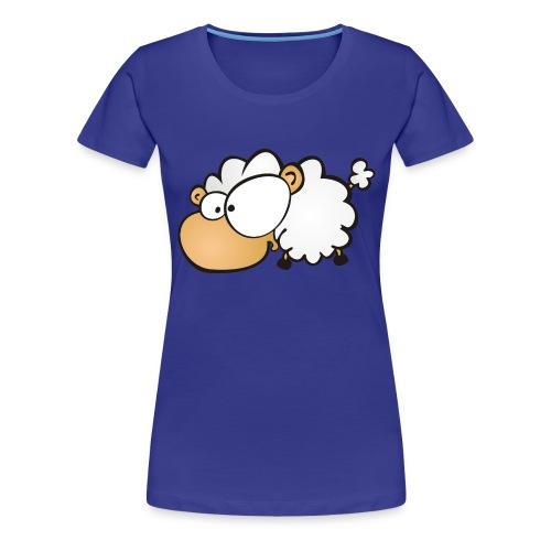Let's get Crazy - Sheep on Girlieshirt - Frauen Premium T-Shirt