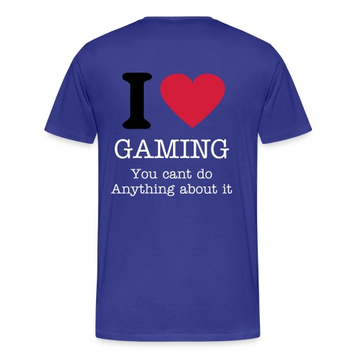 Gaming Tie (Glow in dark) - Men's Premium T-Shirt