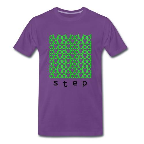 DUBstep - Neon Green/Black - Männer Premium T-Shirt