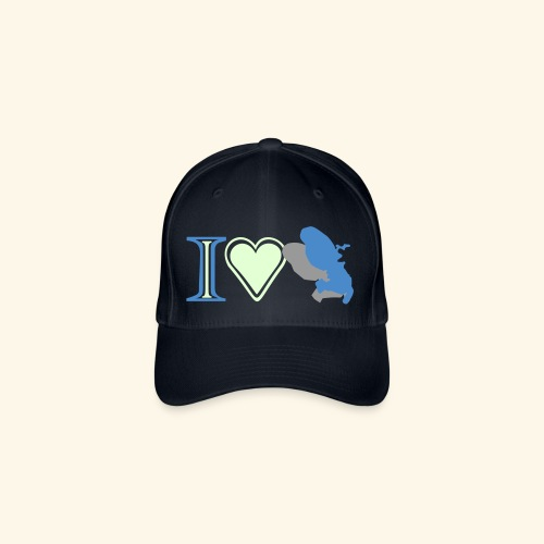 i love Martinique - Casquette Flexfit