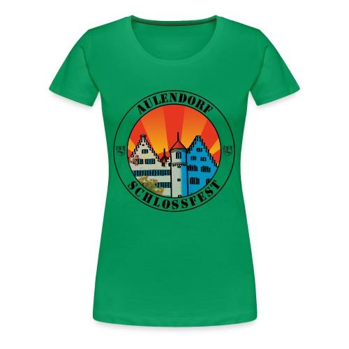 Schlossfest Shirt schwarz - Frauen Premium T-Shirt