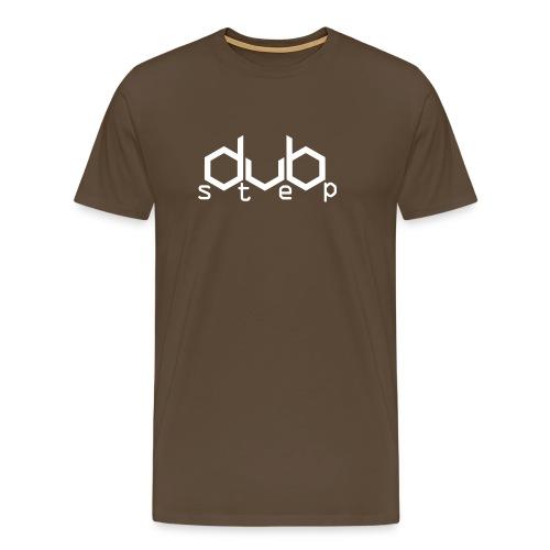 DubStep - White - Männer Premium T-Shirt