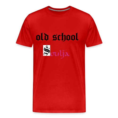 old school  soulja - Men's Premium T-Shirt