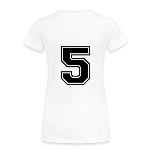 Camiseta deporte mujer nª5 - Camiseta premium mujer