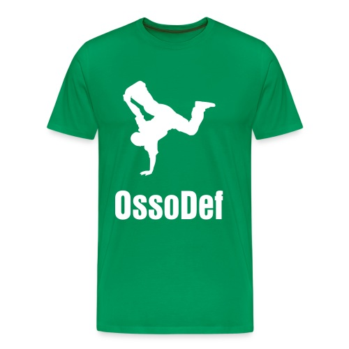 OssoDef Mens Urban T Shirt (Green) - Men's Premium T-Shirt