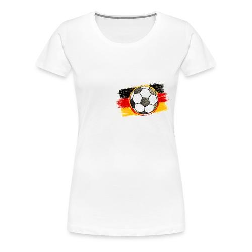 Damen T-Shirt Deutschland - Frauen Premium T-Shirt