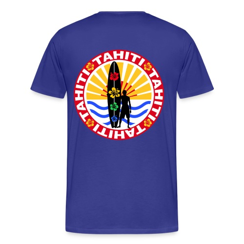 t-shirt tahiti surfing team - Men's Premium T-Shirt