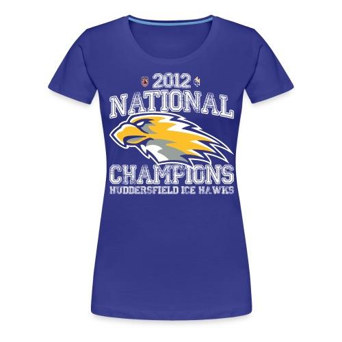 National Champions T-Shirt - Womens - Women's Premium T-Shirt