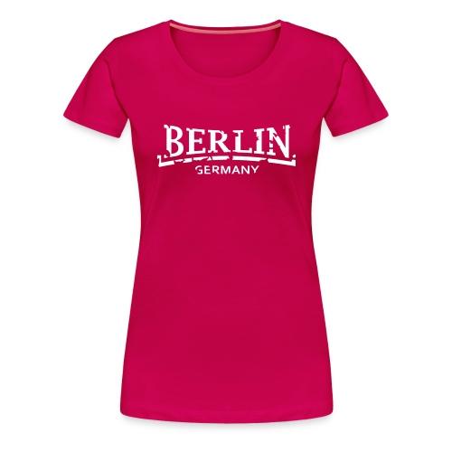 Berlin Germany Frauen T-Shirt klassisch - Frauen Premium T-Shirt